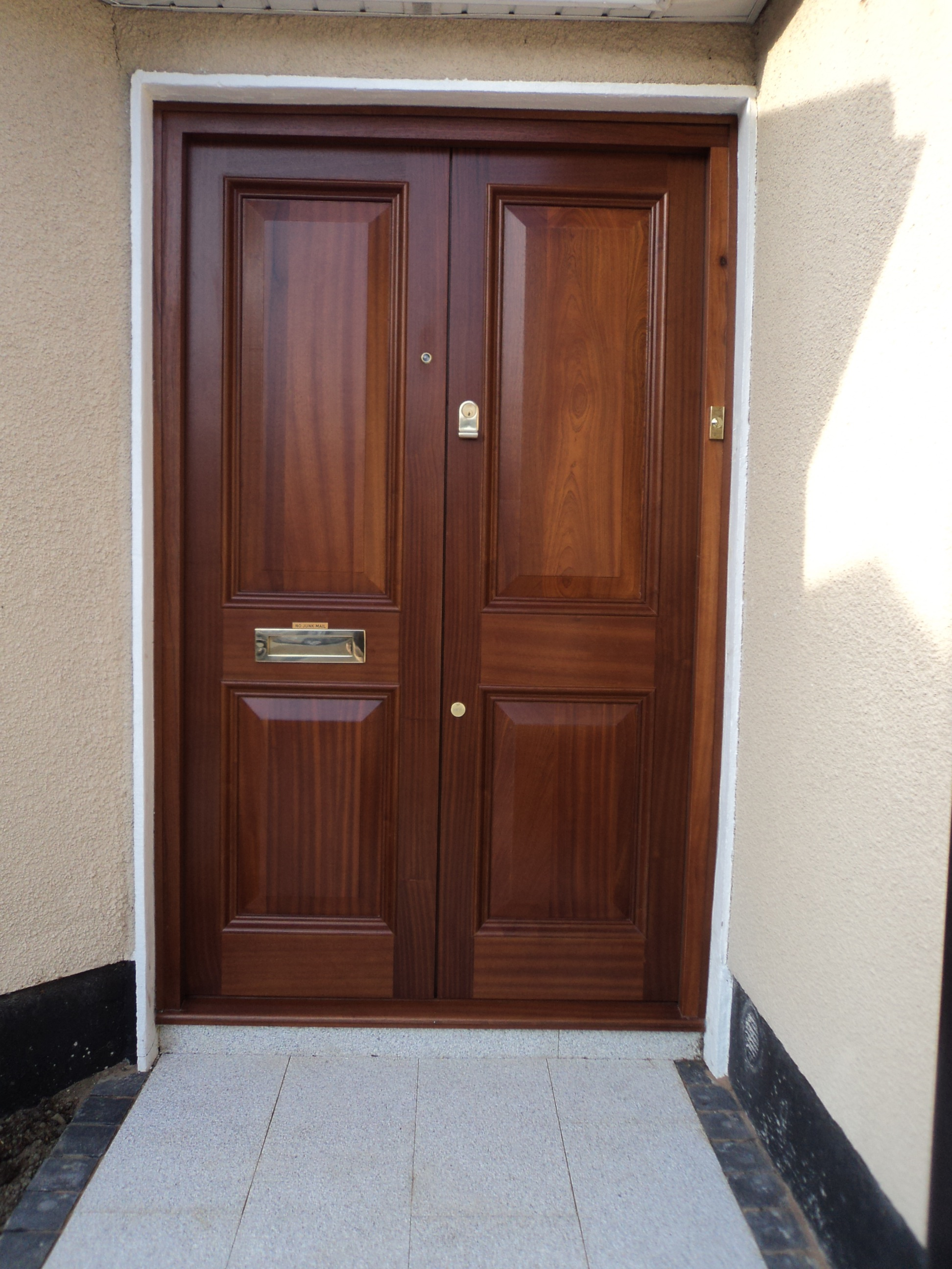Images. Solid mahogany Double doors & Joinery | Higginbotham pezcame.com